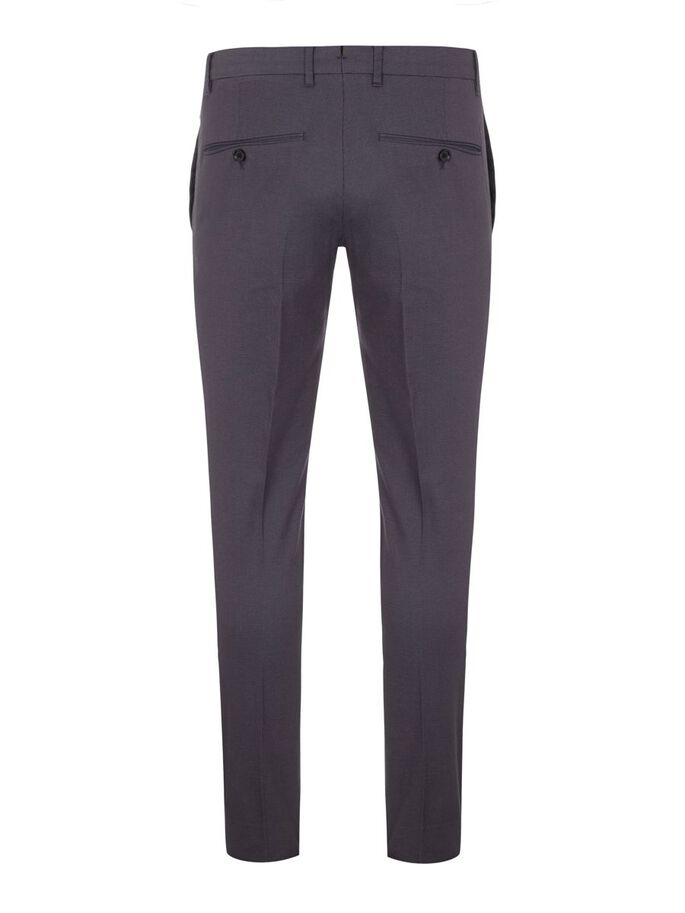 GRANT MICRO TEXTURE TROUSERS, Dark Grey, large