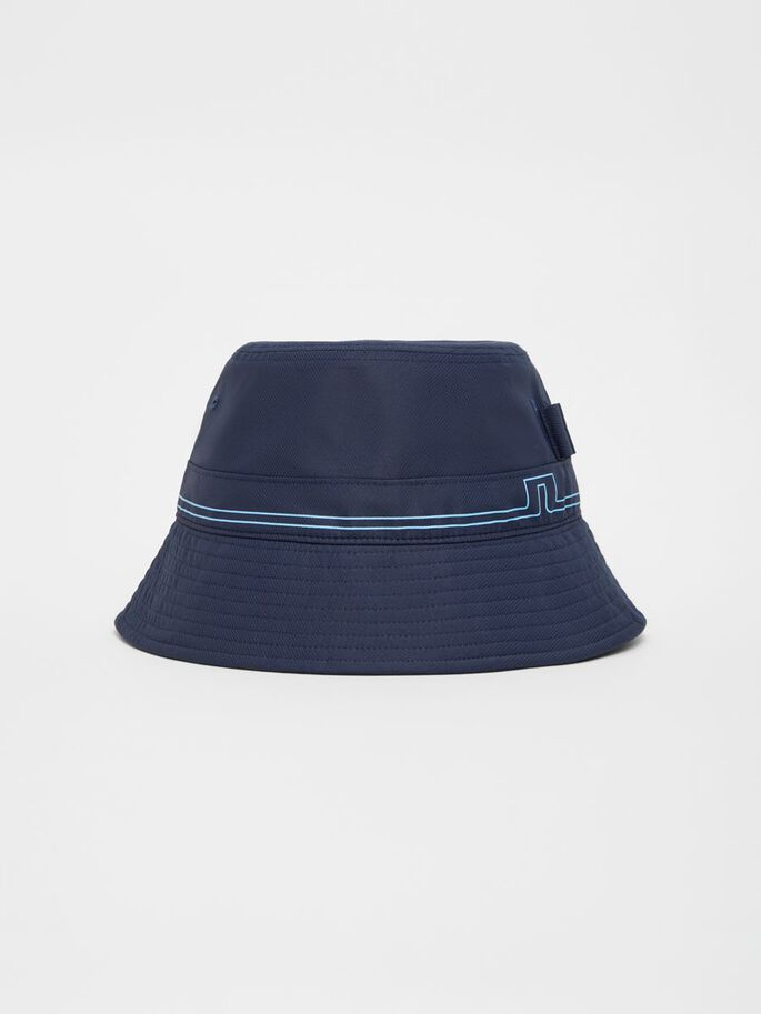 HANS BUCKET HAT, JL Navy, large