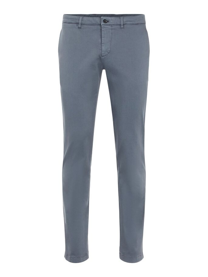 CHAZE HIGH STRETCH TROUSERS, Dark Grey, large