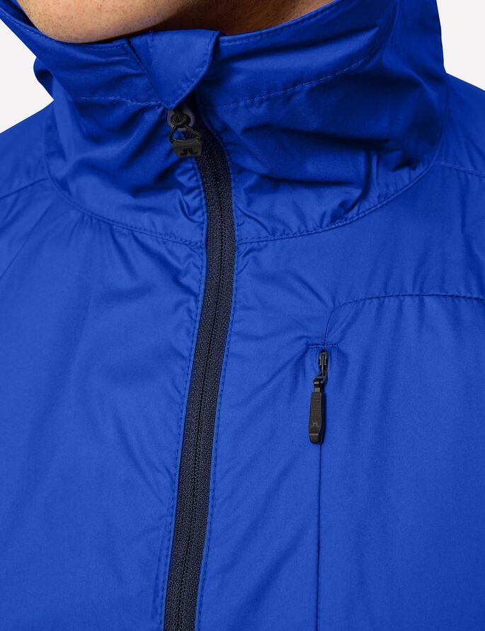 HOODED JL WIND PRO JACKET, Strong Blue, large