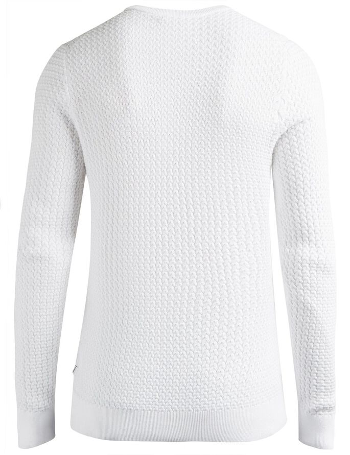 RYAN URBAN BRAID KNITTED PULLOVER, Off White, large