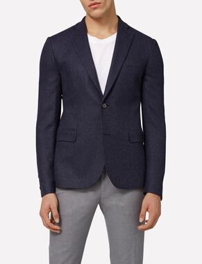HOPPER SOFT HERRINGBONE BLAZER
