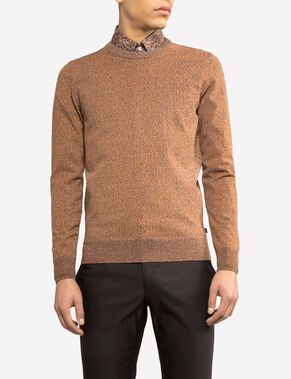PAOLO NYLON KNIT KNITTED PULLOVER