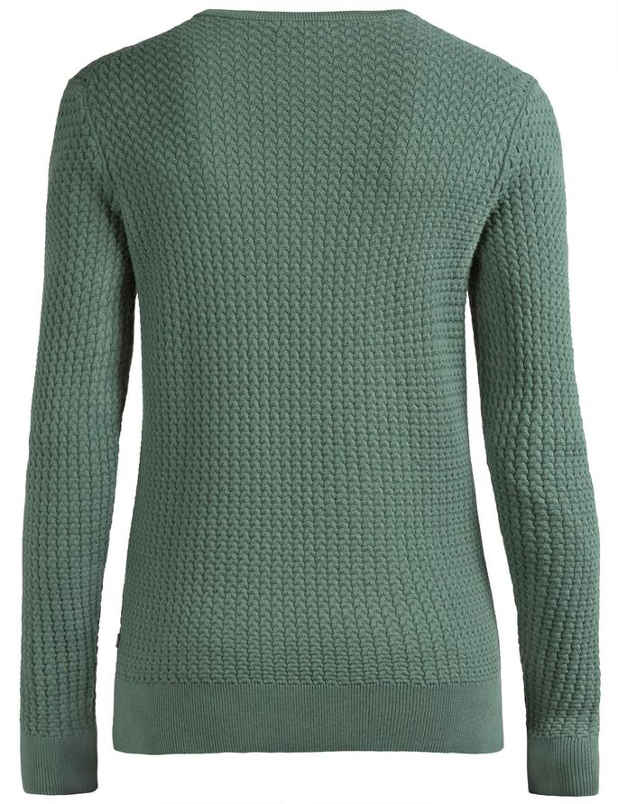 RYAN URBAN BRAID STRIKKET PULLOVER, Dusty Green, large