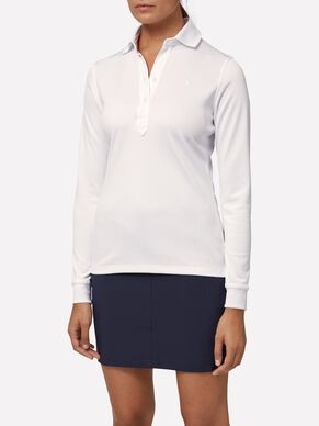 OLIVIA TX PEACHED POLO SHIRT