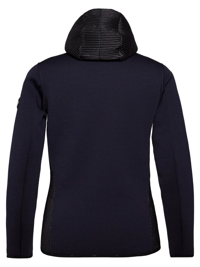 REGAL TECHNO JERSEY SWEAT JACKET, JL Navy, large