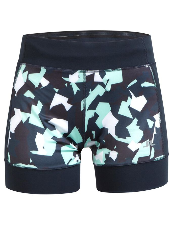 RUNNING COMP POLY SHORTS, Montage mint, large