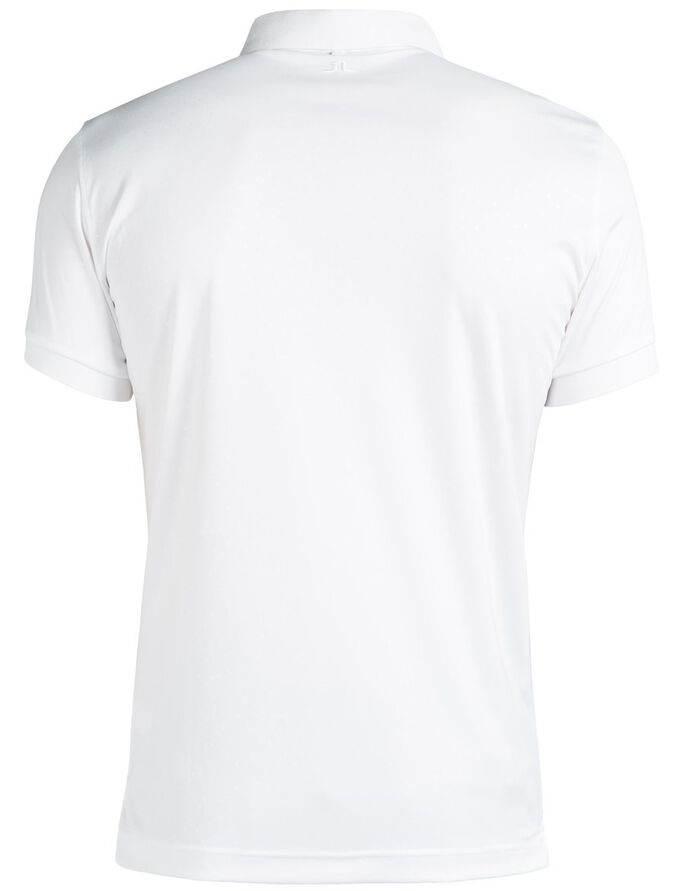 DAVID SLIM TX JERSEY + POLOSKJORTE, White, large