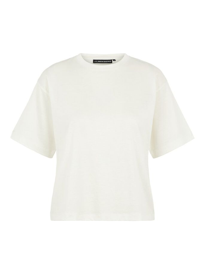 MILLER SHINY T-SHIRT, White, large