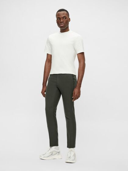 GRANT HOPSACK TROUSERS