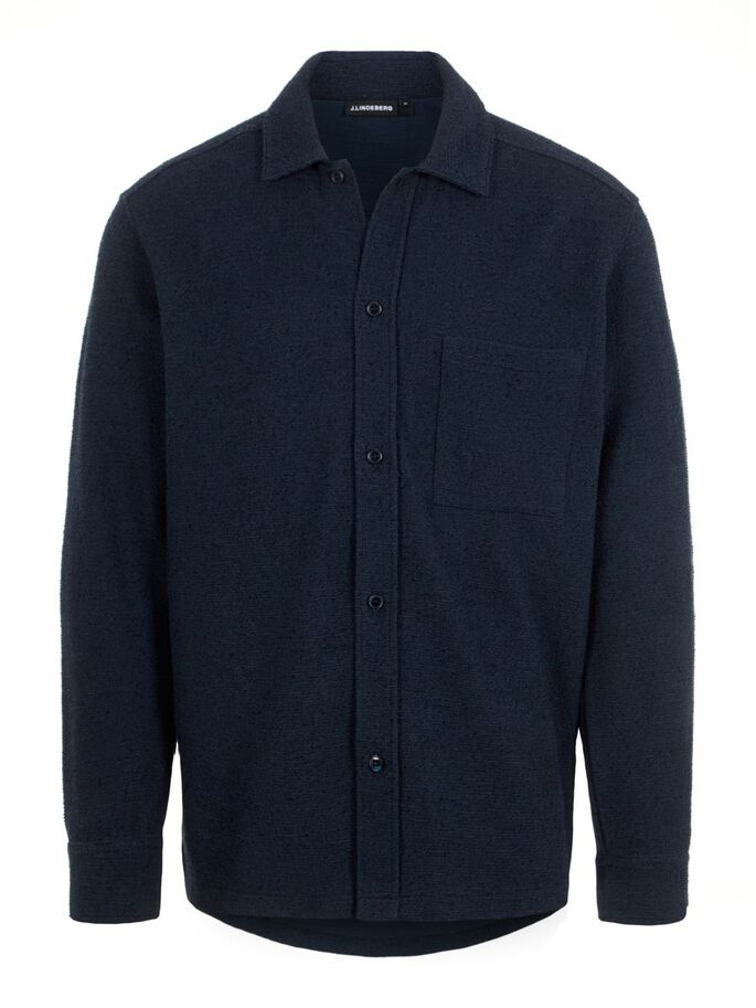 JAMES JERSEY OVERSHIRT, JL Navy, large