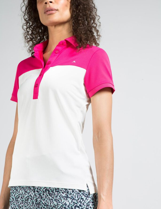 CARIN TX TORQUE POLO SHIRT, Pink Intense, large
