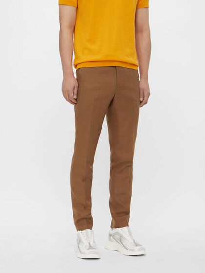 GRANT TECH LINEN TROUSERS