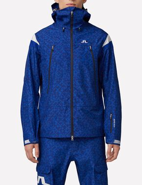 HARPER 3-LAYER GORETEX PRINT SHELL JACKET