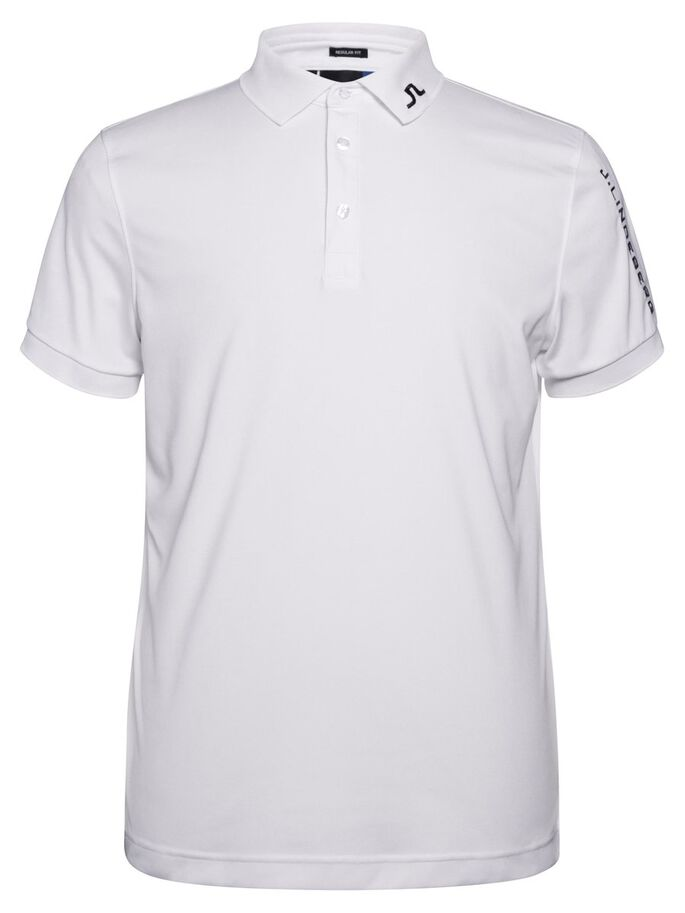 TOUR TECH SLIM TX JERSEY POLO SHIRT, White, large