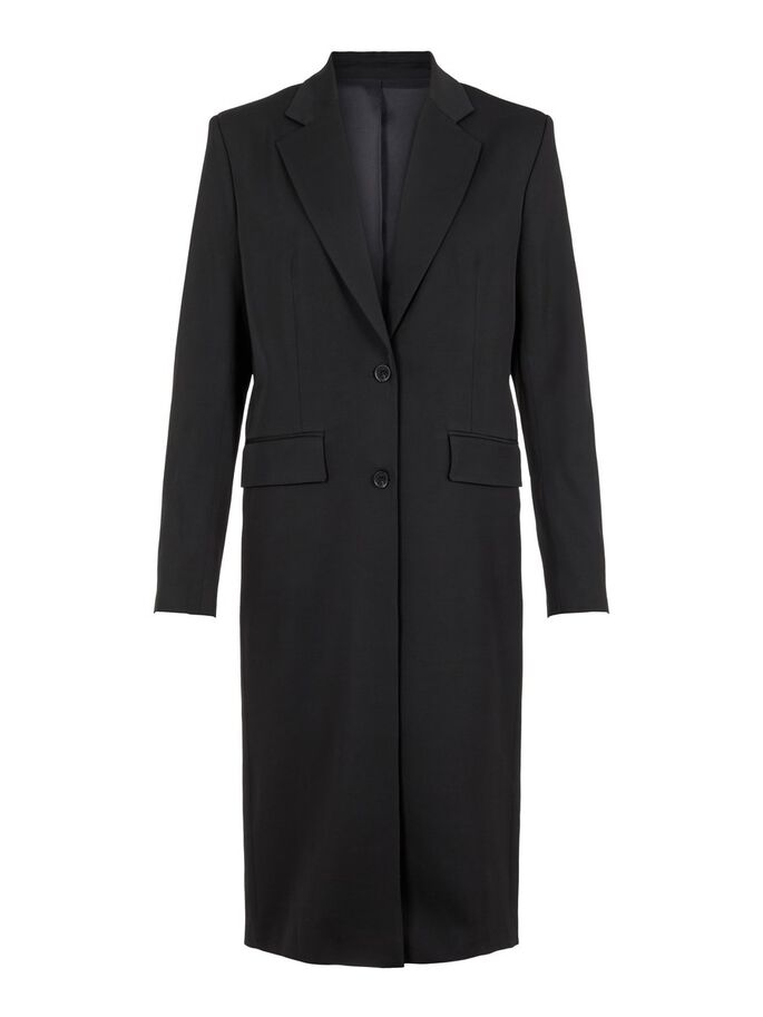 FLOYD BLAZER COAT, Black, large
