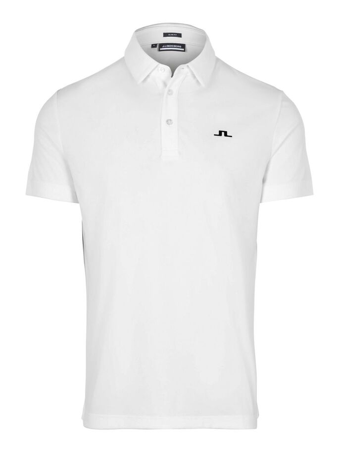 TOM REGULAR FIT POLOSHIRT, White, large