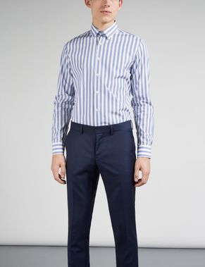 DANIEL BUTTON-DOWN MASON STRIPETE SKJORTE