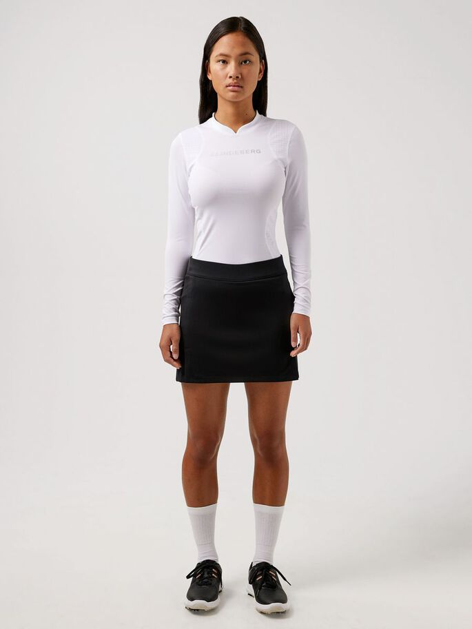 ZOWIE COMPRESSION TOP, White, large