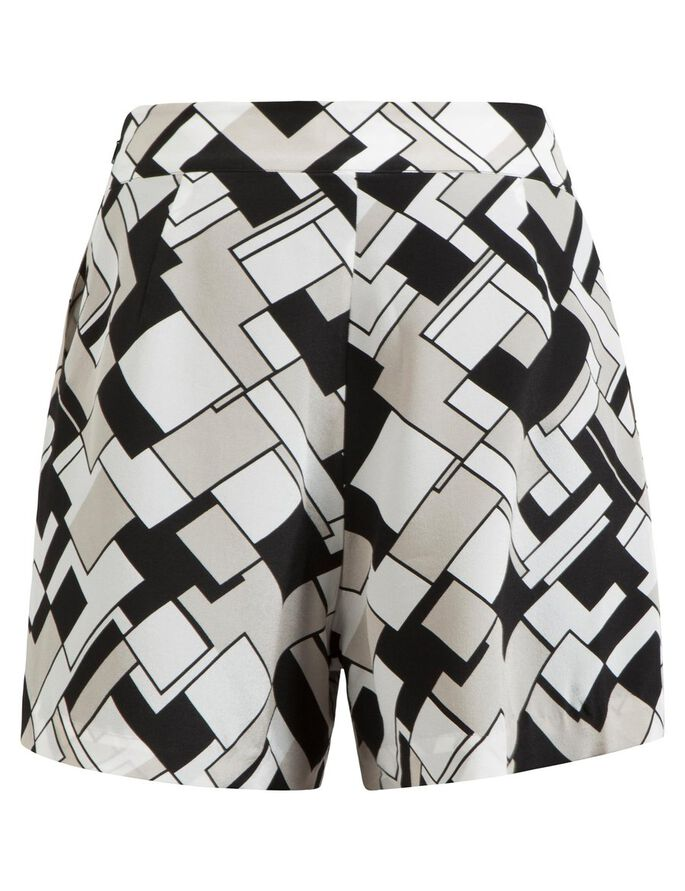 ROSY SMOOTH DRAPE SHORTS, Multi. Col, large