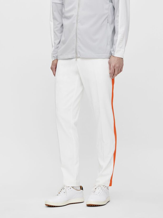 ROSS GOLFHOSE, White, large