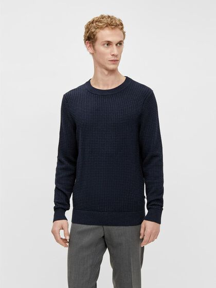 ARTHUR STRUCTURE CREW NECK SWEATER