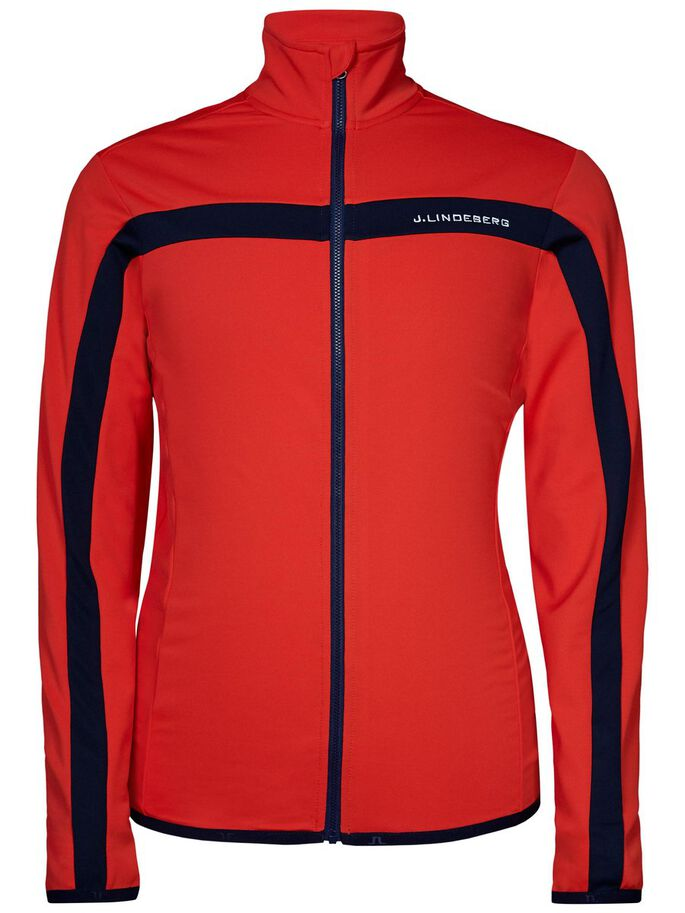 JARVIS FIELDSENSOR- SWEATJACKE, Racing Red, large