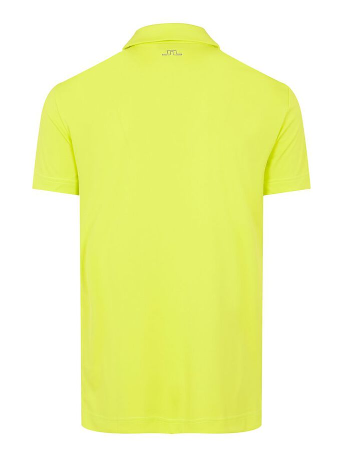 CLAY REGULAR FIT POLOSHIRT, Leaf Yellow, large