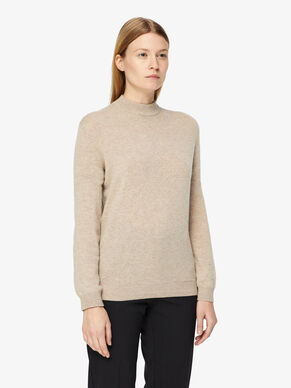 MANDY LIGHT CASHMERE KNITTED PULLOVER