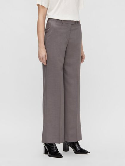 KORI WIDE MELANGE TROUSERS