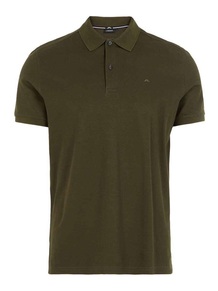 J.Lindeberg TROY CLEAN PIQUE POLO SHIRT