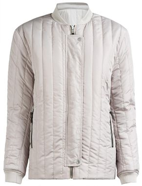 TAYLOR PEACH NYLON JACKET