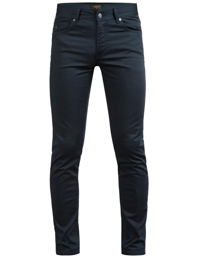 JAY SATIN SLIM FIT JEANS, Navy, large