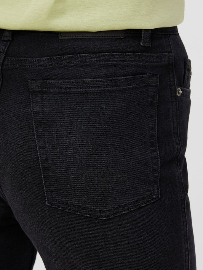 STUDY TRIPLE WASH JEANS, Black, large