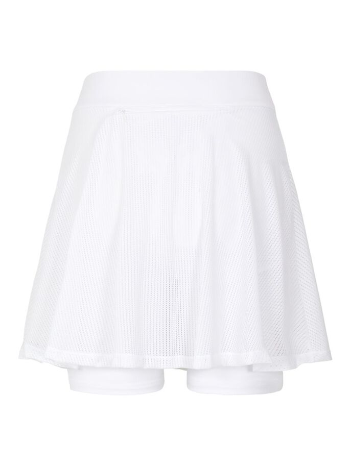 MARCY MESH ROK, White, large