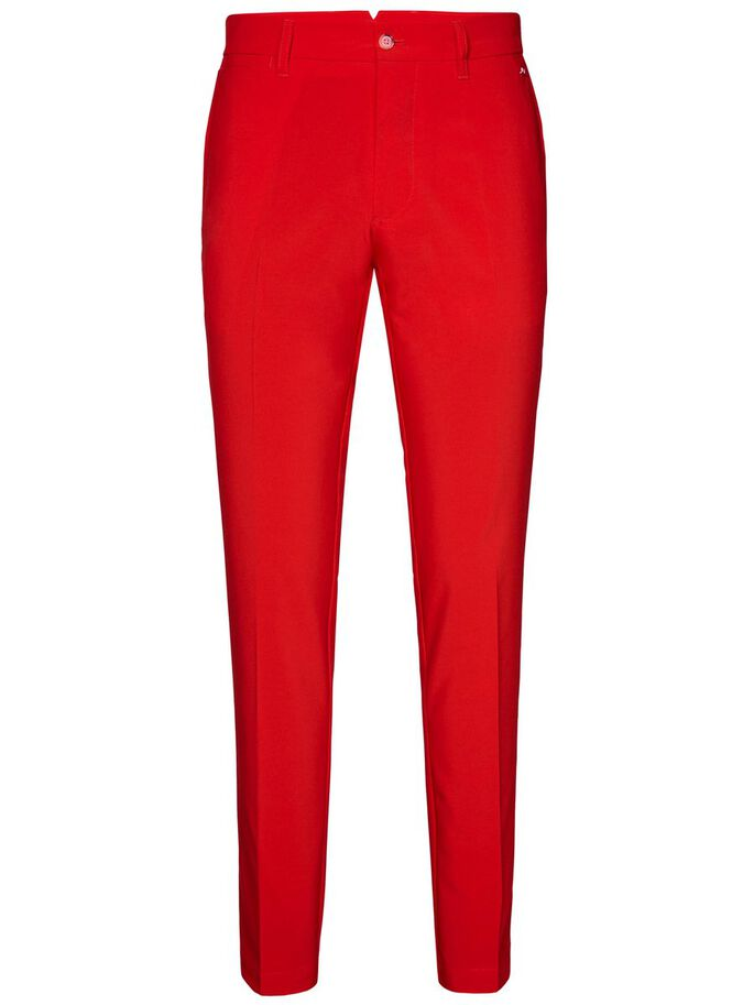 ELLOTT TIGHT MICRO STRETCH PANTALON, Racing Red, large