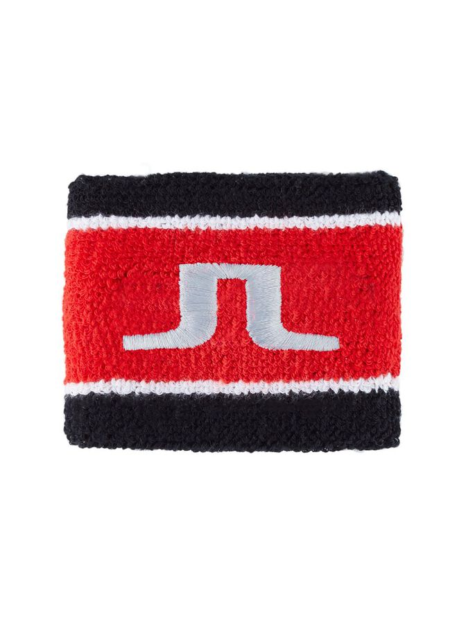 COTTON TERRY BRIDGE SWEAT BAND, Red Curry, large