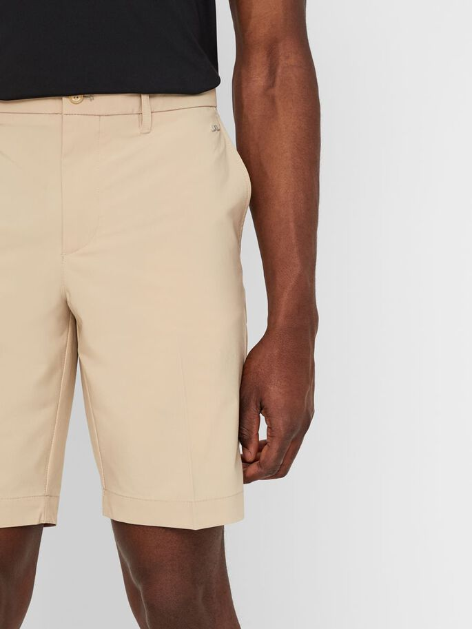 ELOY TAPERED STRETCH SHORTS, Safari Beige, large