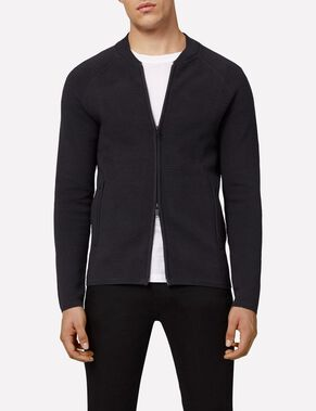 TRUST ZIP COMPACT COTTON JACKET