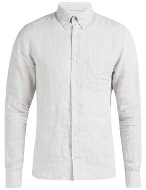 DANIEL BUTTON-DOWN LINEN MELANGE HEMD