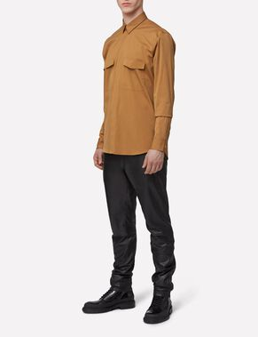 DAVID TECH POP BUTTON-DOWN SKJORTE
