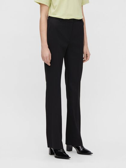 ARETHA FLARED WOOL TROUSERS
