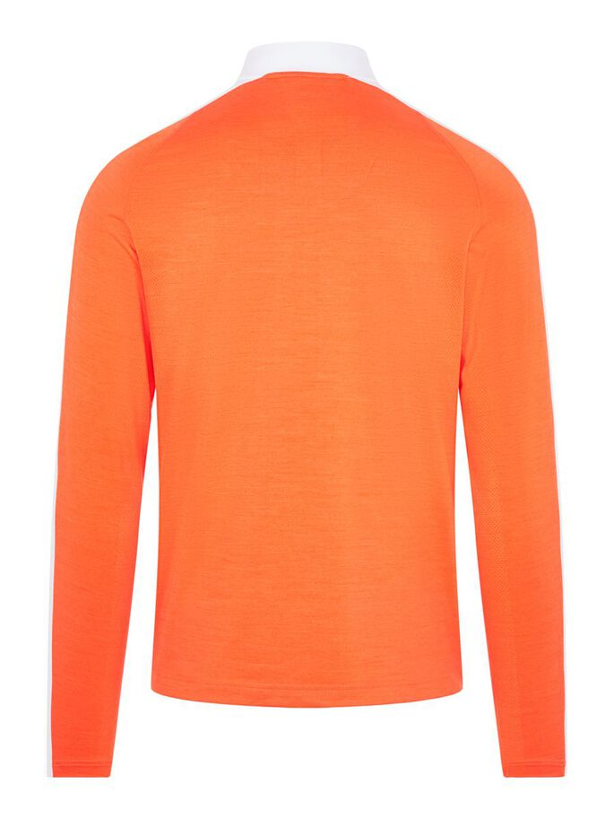 RY MID LAYER PULLOVER, Lava Orange, large