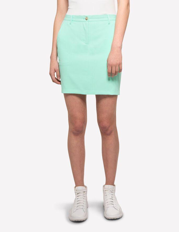 ALLIE MICRO STRETCH SKIRT, Mint, large