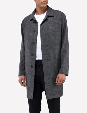 CRAIG 73 FLAME STRUCTURE WOOL COAT