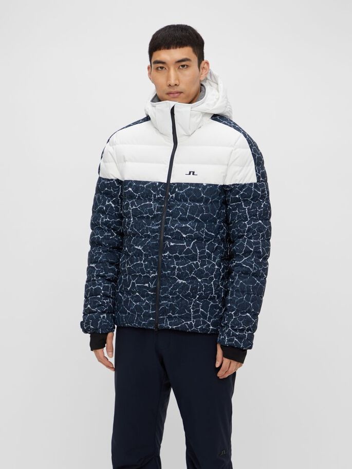 TODD DOWN SKIJACKE, Lunar Navy, large