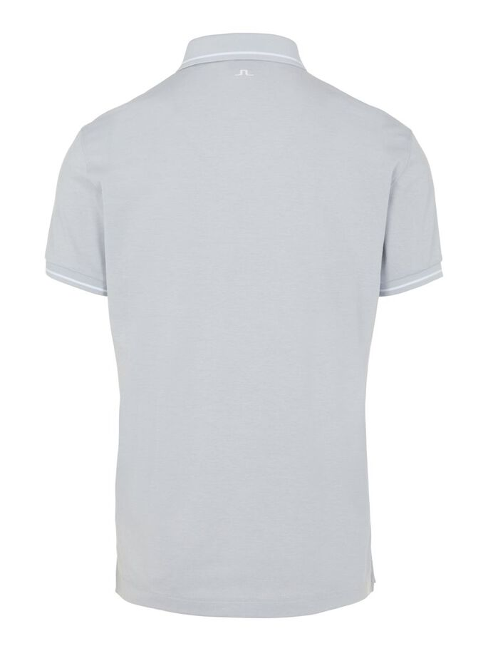 BILL REGULAR FIT POLO SHIRT, Stone Grey Melange, large