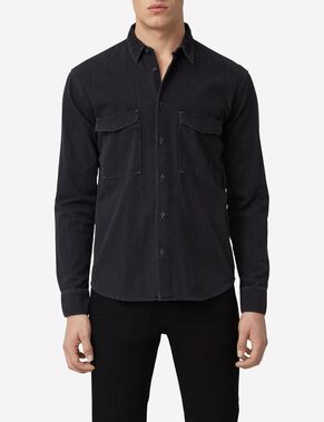 DAVID CLASSIC SMOKE DENIM SHIRT