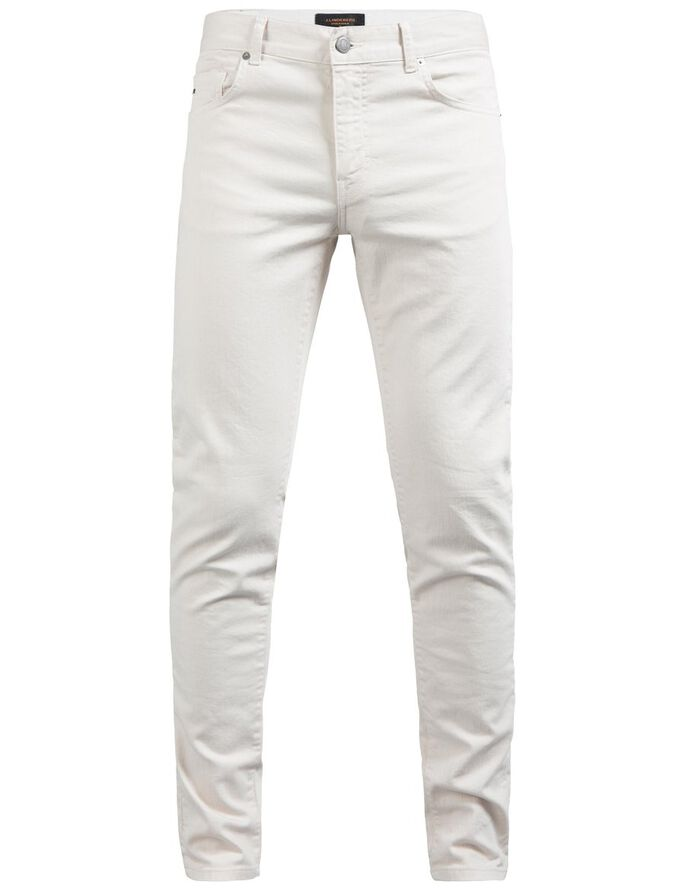 JAY SOLID STRETCH SLIM FIT JEANS, Pale Powder, large