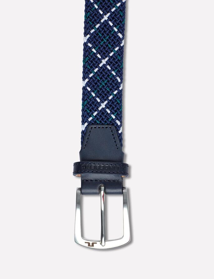 CHAPPER 35 SQUARED ELASTIC BELT, JL Navy, large